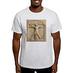 Vitruvian Man relief Light T-Shirt