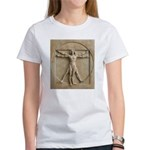 Vitruvian Man relief Women's T-Shirt