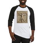 Vitruvian Man relief Baseball Jersey