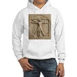 Vitruvian Man relief Hooded Sweatshirt