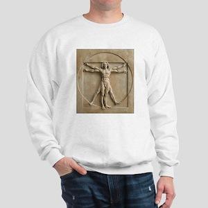 Vitruvian Man relief Sweatshirt