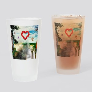 Universal Love Drinking Glass