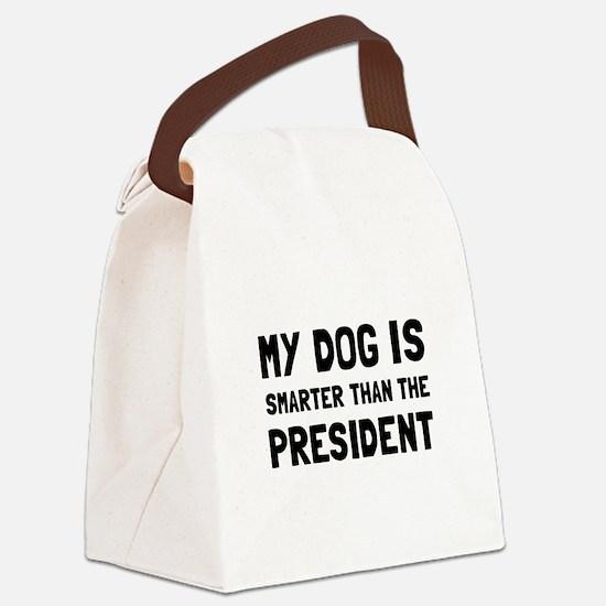 Dog Smarter President Canvas Lunch Bag