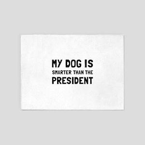 Dog Smarter President 5'x7'Area Rug