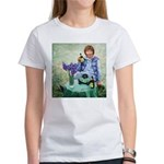 Julie And The Monkey (woman's T-Shirt)