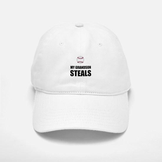 Grandson Steals Baseball Baseball Baseball Baseball Cap