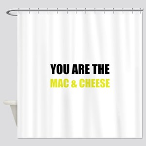 Mac And Cheese Shower Curtain