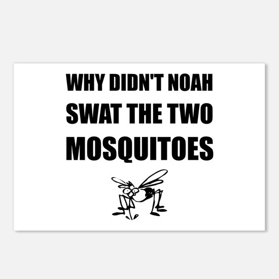 Noah Mosquitoes Postcards (Package of 8)