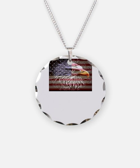 Funny Mens eagle Necklace