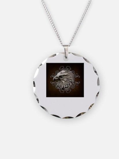 Cool Mens eagle Necklace