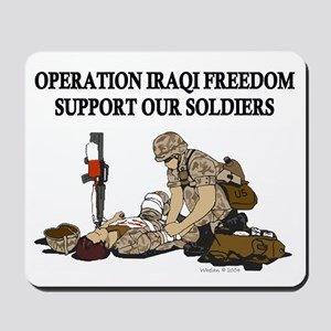 OIF Support our Soldiers Mousepad