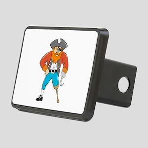 Captain Hook Pirate Wooden Leg Cartoon Hitch Cover