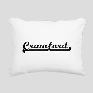 Crawford surname classic Rectangular Canvas Pillow