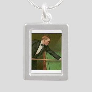 billiards art Necklaces