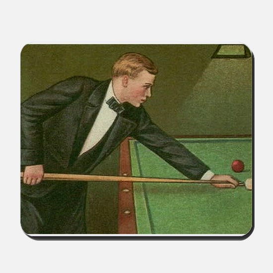 billiards art Mousepad