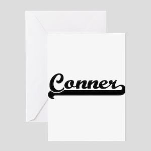 Conner surname classic retro design Greeting Cards