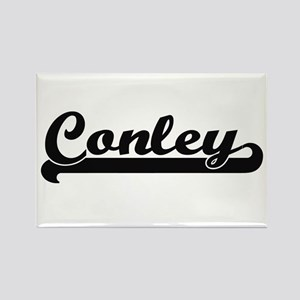 Conley surname classic retro design Magnets