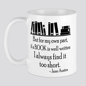 Book Lover Quote Mug