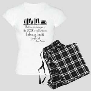 Book Lover Quote Women's Light Pajamas