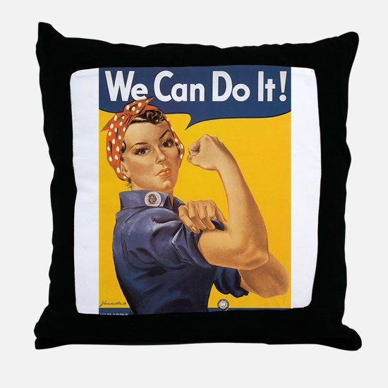 The Poster Art Two Store Throw Pillow