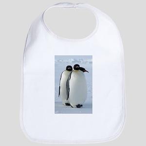 Emperor Penguins Huddled Bib