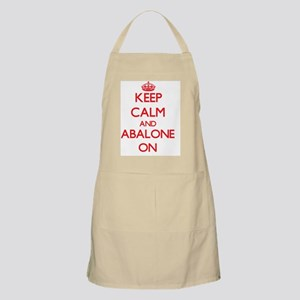 Keep calm and Abalone ON Apron