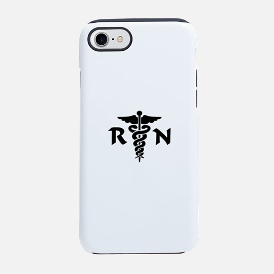 RN Nurse Medical Symbol iPhone 8/7 Tough Case
