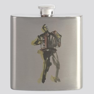 Accordion player Flask