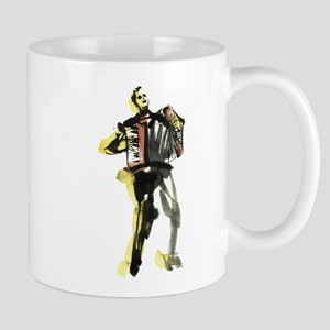 Accordion player Mug