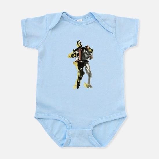 Accordion player Infant Bodysuit