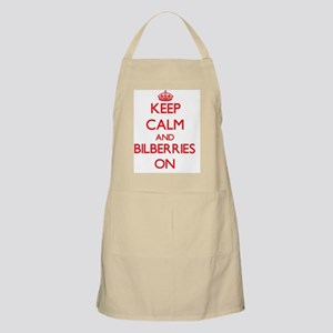 Keep calm and Bilberries ON Apron