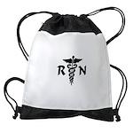 RN Nurse Medical Symbol Drawstring Bag