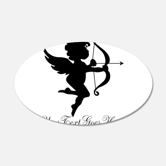 Valentines Day Gifts Cupid Decal Wall Sticker
