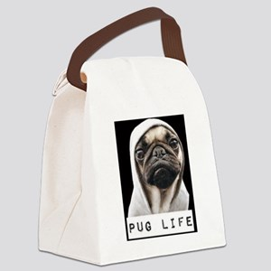 Pug Life  Canvas Lunch Bag