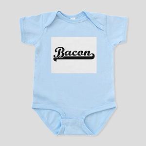 Bacon surname classic retro design Body Suit