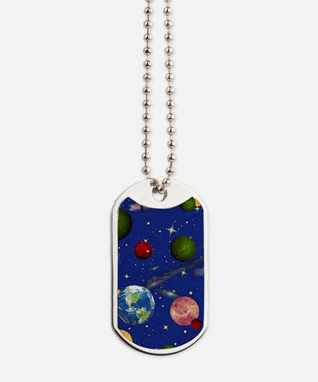 The Universe Dog Tags