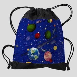 The Universe Drawstring Bag