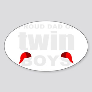 Twins dad Sticker