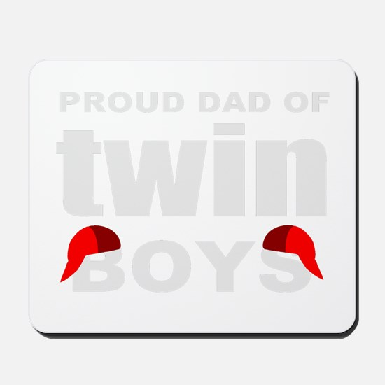 Twins dad Mousepad