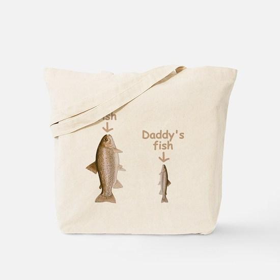 My Fish, Daddy's Fish Tote Bag