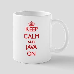 Keep calm and Java ON Mugs