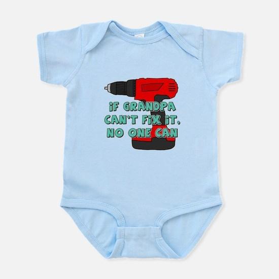 Grandpa Can't Fix It Baby Light Bodysuit