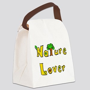 Nature Lover Canvas Lunch Bag