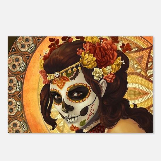 Dia De Los Muertos Postcards (Package of 8)