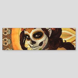 Dia De Los Muertos Bumper Sticker