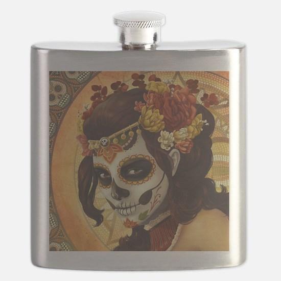 Dia De Los Muertos Flask