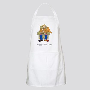 Happy Father's Day for cat lover. Apron