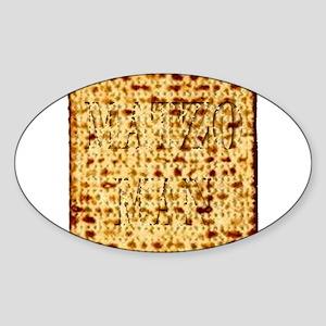 Matza Passover holiday Jewish Traditional Sticker