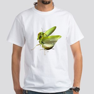 Mantis White T-Shirt