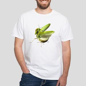 Mantis White T-Shirt